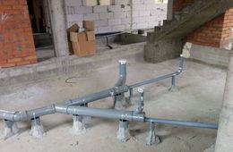 Монтаж канализации в коттедже под ключ Железнодорожный