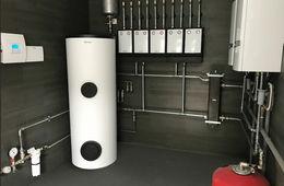 Монтаж системы отопления в частном доме Железнодорожный