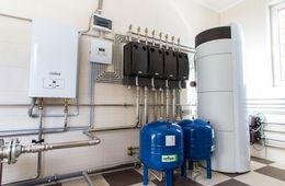 Монтаж системы отопления в коттедже Железнодорожный