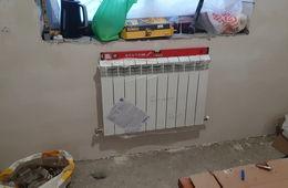 Монтаж радиатора отопления в частном доме Железнодорожный