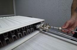 Монтаж радиаторов отопления с нижней подводкой Железнодорожный