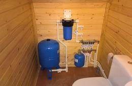 Монтаж водоснабжения в частном доме Железнодорожный