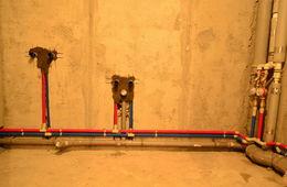 Разводка труб в квартире Железнодорожный