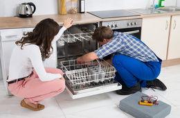 Установка посудомоечной машины в кухню Железнодорожный