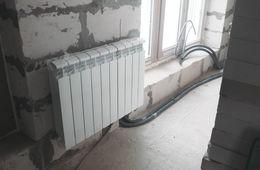 Замена радиаторов отопления в квартире Железнодорожный